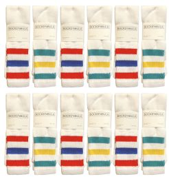 24 of Yacht & Smith Men's 31-Inch Terry Cushion Cotton Extra Long Tube SockS- King Size 13-16