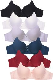 288 of Sofra Ladies Full Cup Plain Cotton Bra