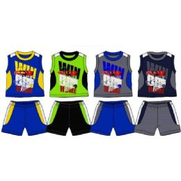 36 of Spring Boys Close Mesh Short Sets Toddler