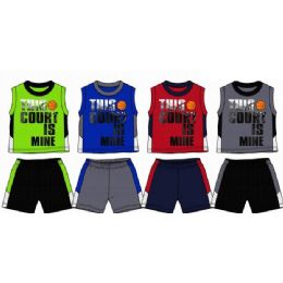 48 of Spring Boys Close Mesh Short Sets Size Toddler