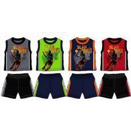 48 of Spring Boys Close Mesh Short Sets Toddler