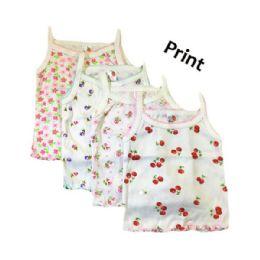 36 of Strawberry Girl Infant Spaghetti Strap Singlet 0-9 Months In Print