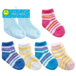 144 of Two Pack Baby Fuzzy Socks