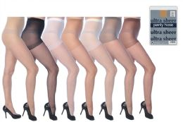 1392 of Ultra Sheer Pantyhose In Assorted Colors