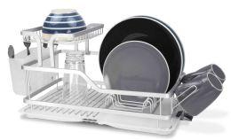 6 of Home Basics 2-Tier Aluminum Dish Rack