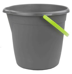 12 of Home Basics Brilliant Cleaning Bucket, Grey/lime