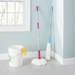 12 of Home Basics Ace Collection Twist Mop