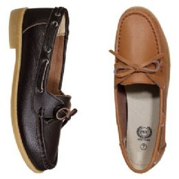 12 of Womens Leather Moc In Cognic