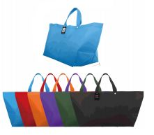 96 of Woven Shopping Bag Solid Colors