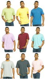 36 of Yacht & Smith Mens Assorted Color Slub T Shirt With Pocket - Size Xxxl