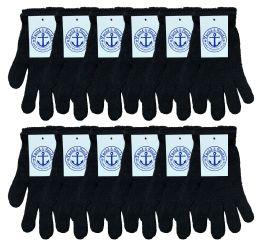 240 of Yacht & Smith Unisex Black Magic Gloves Bulk Buy
