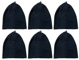 240 of Yacht & Smith Unisex Multi Functional Fleece Beanie Face Cover And Scarf , Solid Black