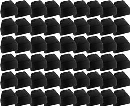 60 of Yacht & Smith Unisex Winter Warm Beanie Hats In Solid Black