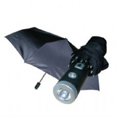 24 of Umbrella 3 Fold Black LED w/ Display