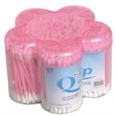 120 of Cotton Swab Plastic Container 500CT