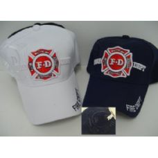 24 of Fire Department Hat-Shadow