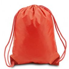 60 of Drawstring Backpack - Orange