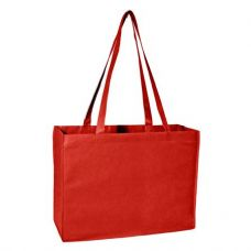 100 of Deluxe Tote Jr - Red