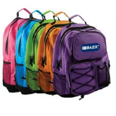 "20 of BAZIC 17"" Odyssey Bright Color Backpack"