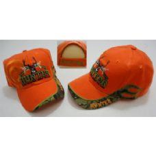 72 of HUNTER Hat--LIVE TO HUNT.HUNT TO LIVE [Target Shadow]-Orange Only
