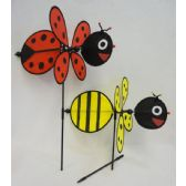 """120 of 16"""" 3D Wind Spinner [Bug/Bee/Bunny]"""