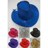 24 of Childrens Sequin Cowboy Hats