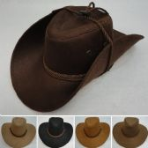 48 of Suede-Like Cowboy Hat [Rope Hat Band]