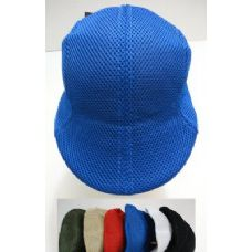 144 of Summer Mesh Golf Hats-Assorted Colors