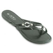 48 of Ladies Double Strap Flat Sandals