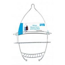 8 of Deluxe Shower Caddy With Soap Dish