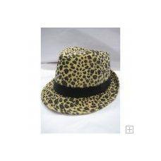 72 of Animal Print Fedora Hat