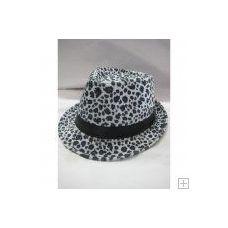 36 of Animal Print Fedora Hat