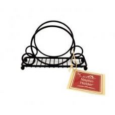 12 of Deco Black Napkin Holder