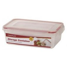 24 of 6 Piece Plastic Assorted Container WIth Click And Lock Lids