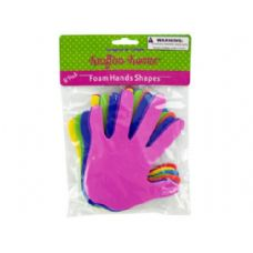 72 of Foam Craft Hand Shapes 8 Pack