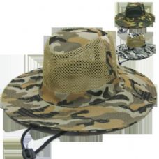 48 of Camo Mesh Hunting Hat