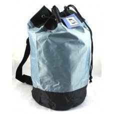 "24 of Draw String Nylon Backpack - 17"" assorted colors."