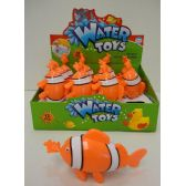 72 of Clown Fish Water Toy with Display Box