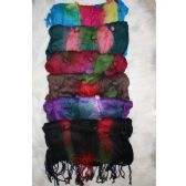 72 of Ladies Trendy Button Scarf