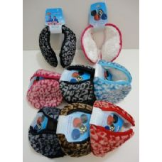 72 of Earmuffs with Fur Inside--Printed