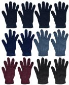 60 of Unisex Magic Gloves 1 Size Fits All Assorted Colors