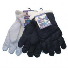24 of Winter Ski Glove Ladies Black & White