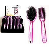 72 of Deluxe Hair Brush Assortment on  Counter Display