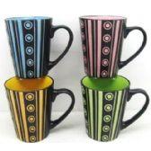 48 of 11 Ounce Stoneware Mug Modern Design, CCIB