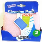 48 of Terry Net Scouring Sponge Pads 2 pack