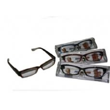 120 of Two Tone Plastic Reading Glass With Case