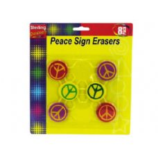 72 of Peace Sign Erasers