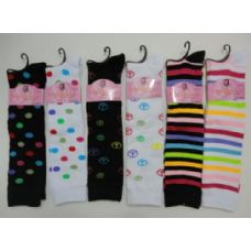 "48 of 12"" Knee High Socks-Assortment"