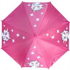 48 of Kid Size Cat Umbrella Pink