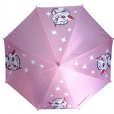 48 of Kid Size Cat Umbrella Purple